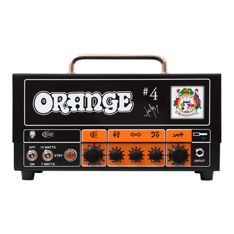 Orange Jim Root #4 Signature Amplifier, front