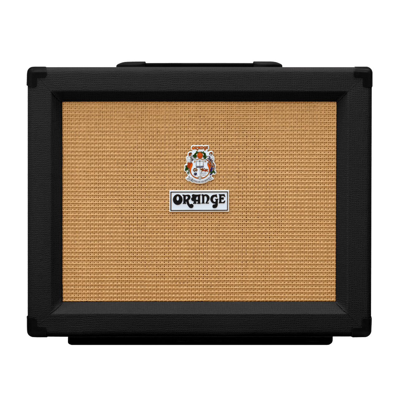 Orange PPC112 Closed Back Speaker Cabinet, Black