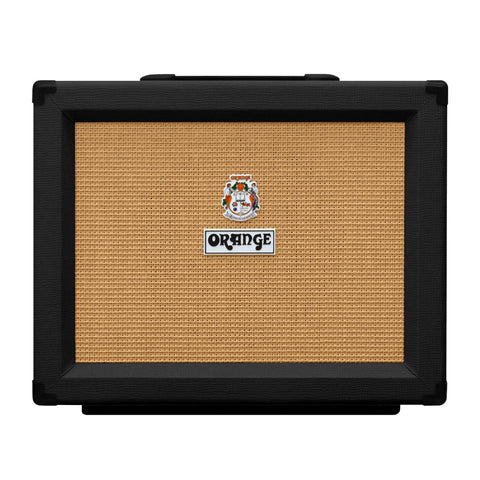 Orange PPC112 Closed Back Speaker Cabinet, Black, front