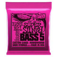 Ernie Ball SUPER SLINKY 5-STRING NICKEL WOUND ELECTRIC BASS STRINGS
