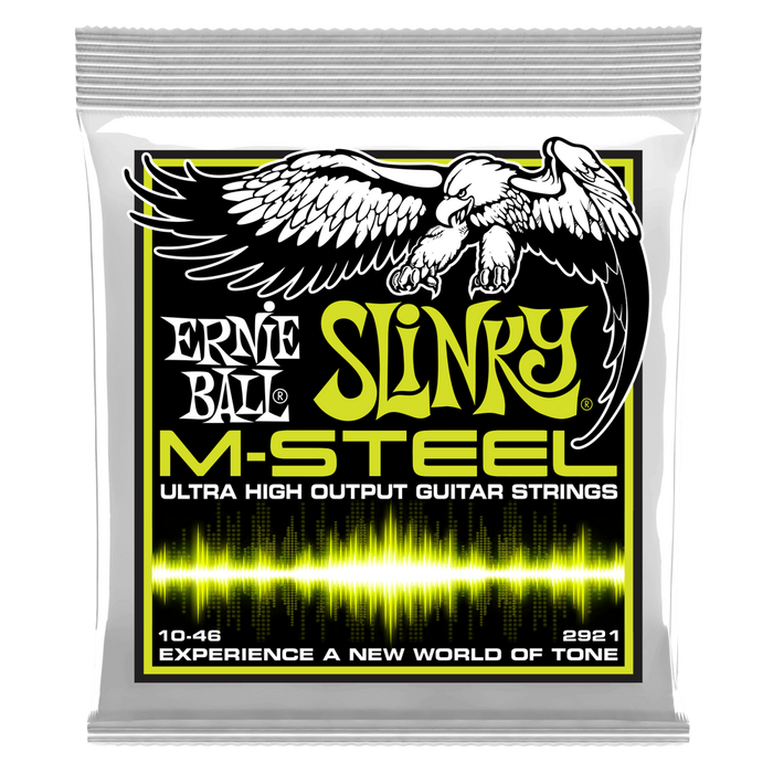 Ernie Ball REGULAR SLINKY M-STEEL ELECTRIC GUITAR STRINGS