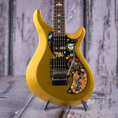 Paul Reed Smith S2 VR Vela Vernon Reid Signature Model Electric Guitar, Egyptian Gold, front closeup