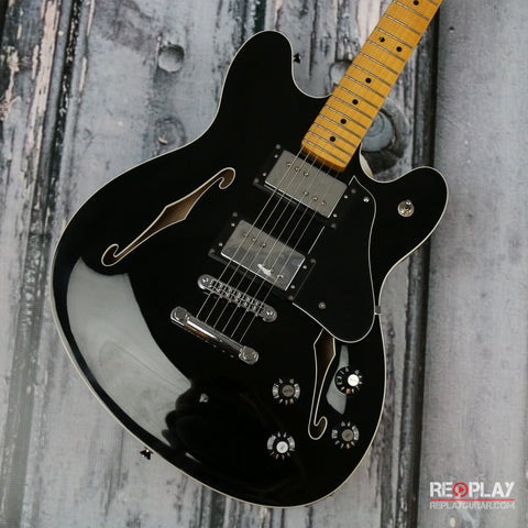 Fender Starcaster Guitar Black
