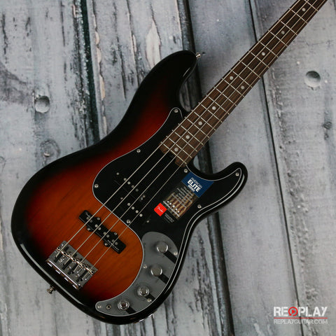 Fender American Elite Precision Bass (3-Color Sunburst)
