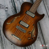Ibanez Artcore AGBV205A Tobacco Burst Low Gloss 5-String Bass