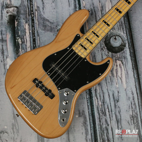 Squier Vintage Modified Jazz Bass V Natural *Demo Model*