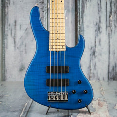 Sadowsky Deluxe Satin Series 5-24 Modern 5-String Bass, Translucent Blue