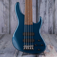 Sadowsky MetroLine 5-24 Modern 5-String Bass, Dark Lake Placid Blue Metallic High Polish