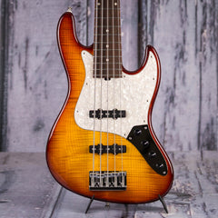 Sadowsky NYC Vintage 5-String J-Bass, Dark Cherry Burst