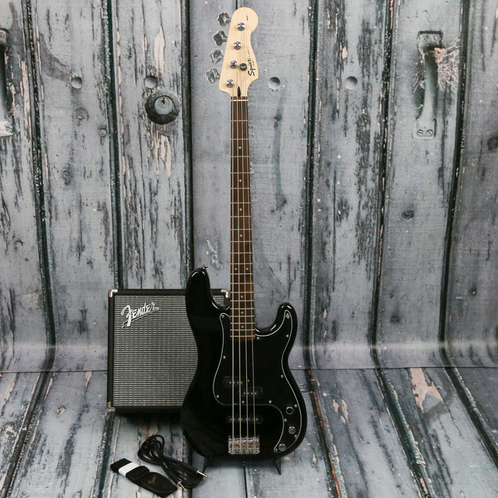 Squier Affinity PJ Black Bass Pack