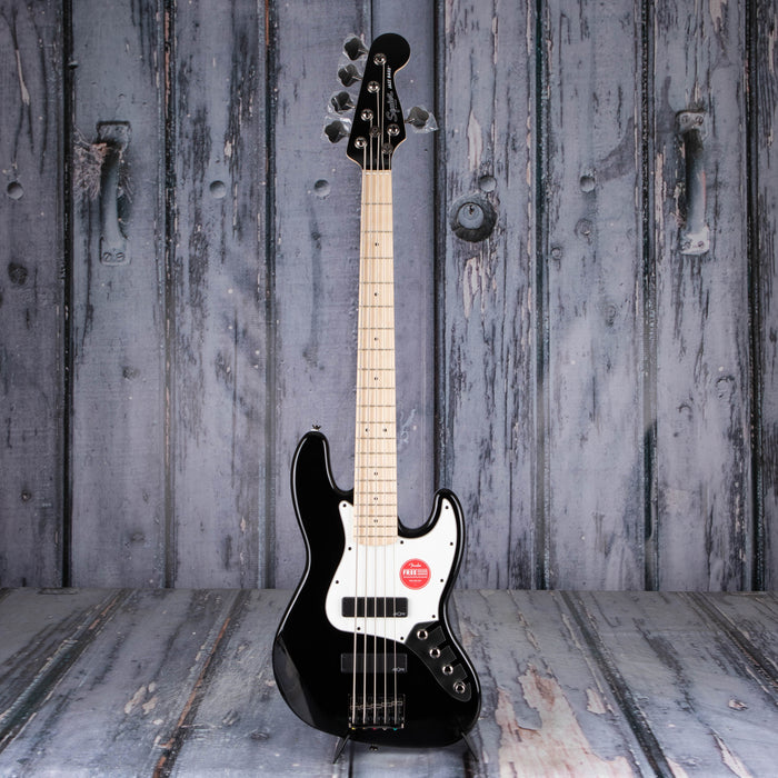 Squier Contemporary Active V Jazz Bass, Black