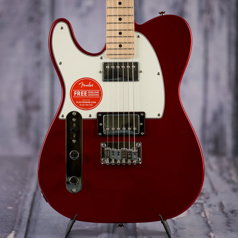Squier Contemporary Telecaster HH left handed red