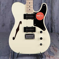 Squier Paranormal Cabronita Telecaster Thinline Semi-Hollowbody, Olympic White