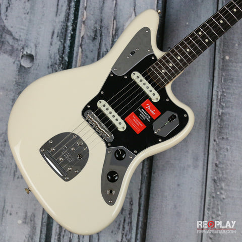Fender American Professional Jaguar (Olympic White) *Demo Model*