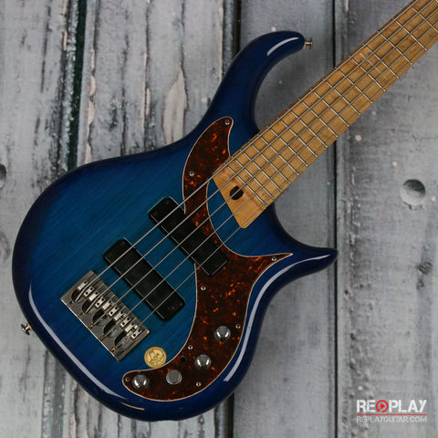 Used - Warrior 2001 5-String NAMM Bass (Translucent Blue)