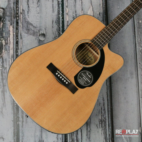 Fender CD 60SCE (Natural)