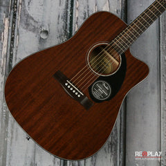 Fender CD 60SCE All-Mahogany