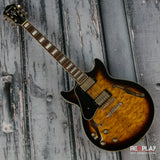Ibanez Artcore Expressionist AM93 Lefty Antique Yellow Sunburst