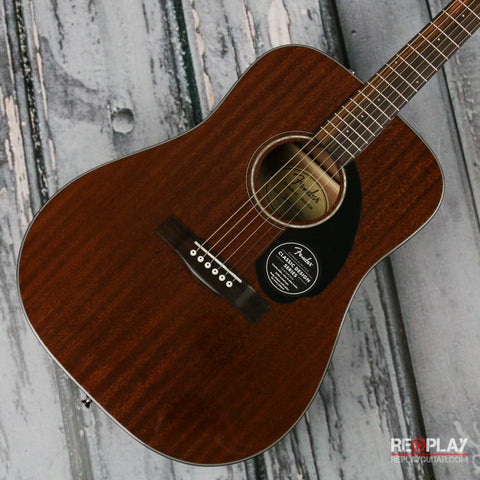 Fender CD 60S All-Mahogany