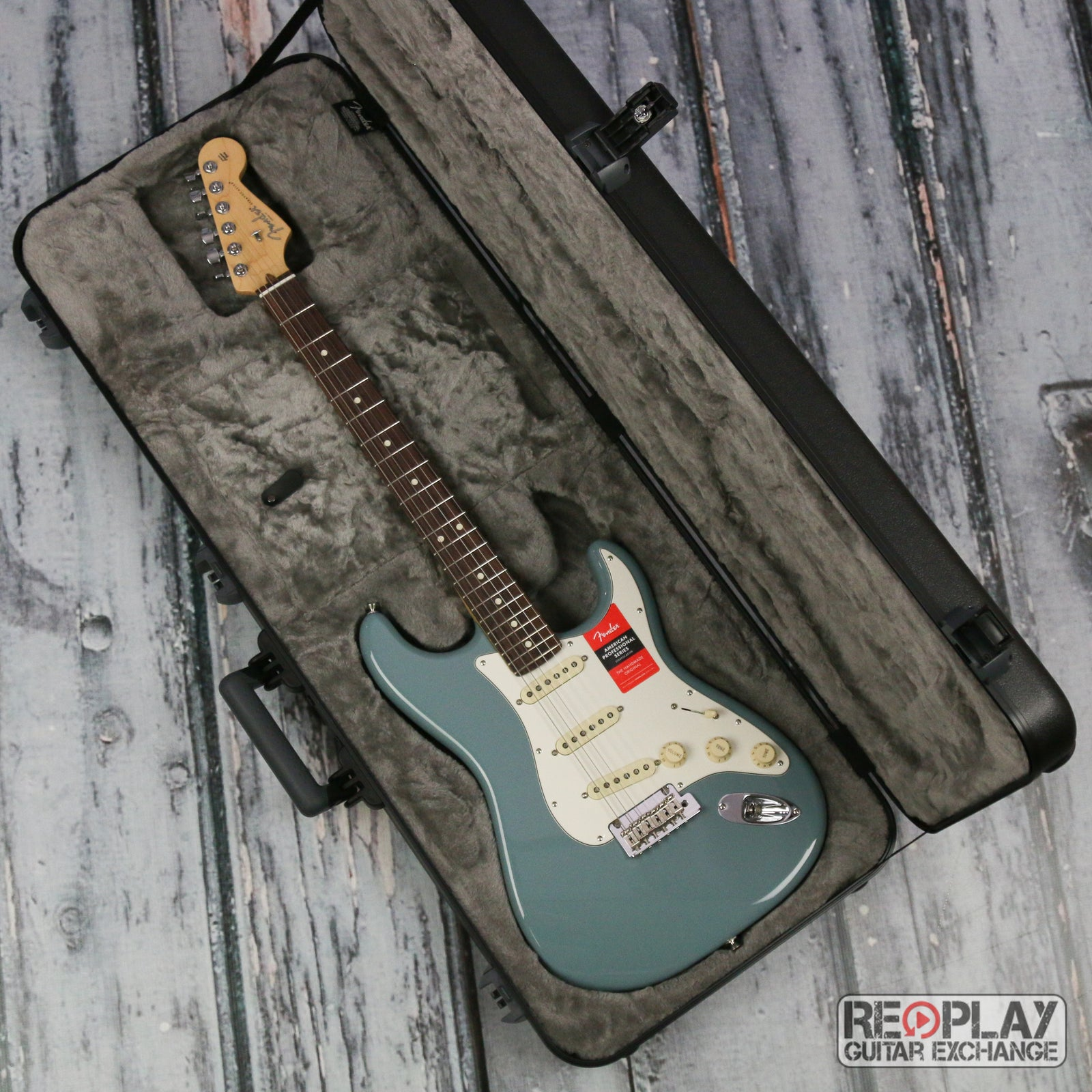 Fender American Pro Strat Sonic Grey | For Sale | Replay Guitar