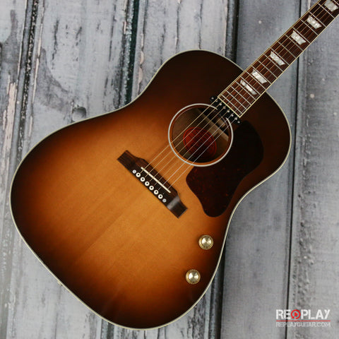 Used - Gibson 2014 Custom Shop J-160e Special Edition (Sunburst)