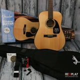 Fender DG-8S Acoustic Guitar Pack (Natural)