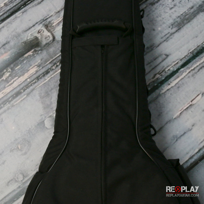 Levy's CPS20 Acoustic Guitar Gig Bag, Black & Gray
