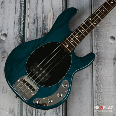 Used - 1994 Ernie Ball Music Man Stingray (Transparent Teal)