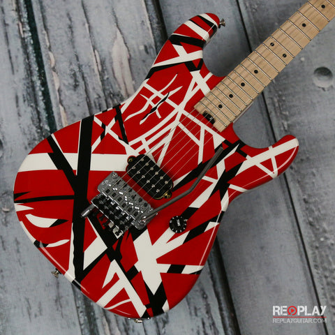 Used - EVH 2013 Striped Series (Red, White, Black)