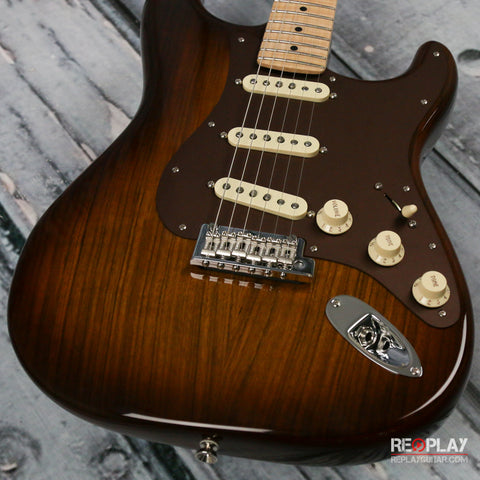 Fender 2017 Limited Edition Shedua Top Stratocaster