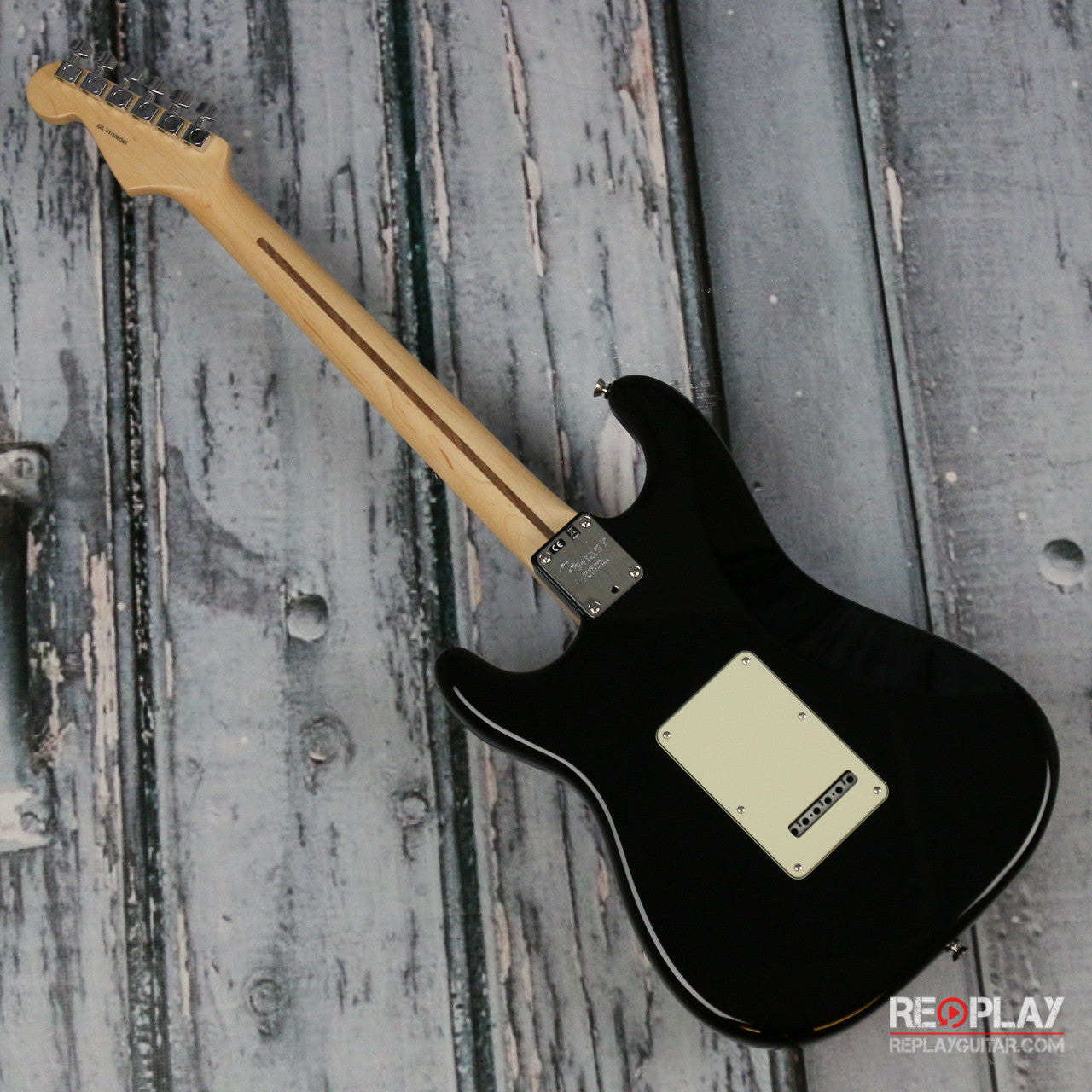 Fender Stratocaster Black | For Sale | Replay Guitar