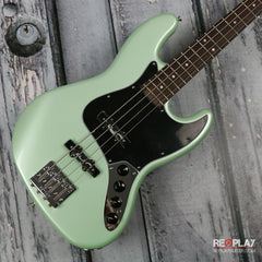 Used - Fender Deluxe Active Jazz Bass - Surf Pearl