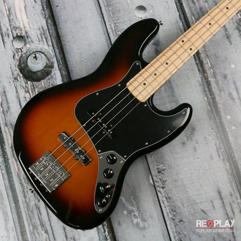 Fender Deluxe Active Jazz Bass - 3 color Sunburst *Demo Model*