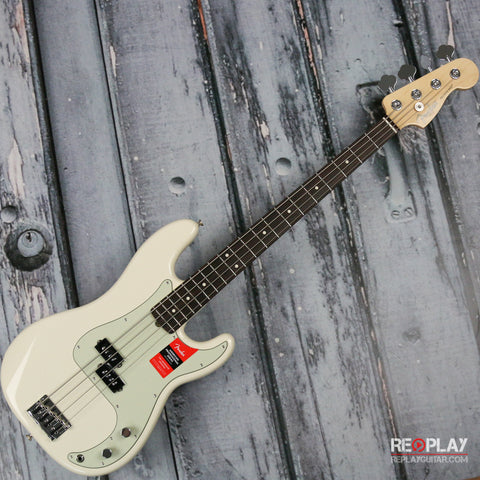 Fender - American Professional Precision Bass - Olympic White