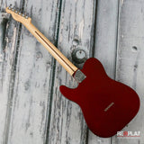 Fender Deluxe Telecaster Thinline - Candy Apple Red