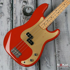 Fender '50s Precision Bass - Fiesta Red