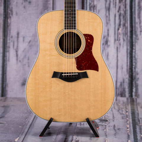 Taylor 410-R Dreadnought Acoustic Guitar, 2015, Natural, front closeup