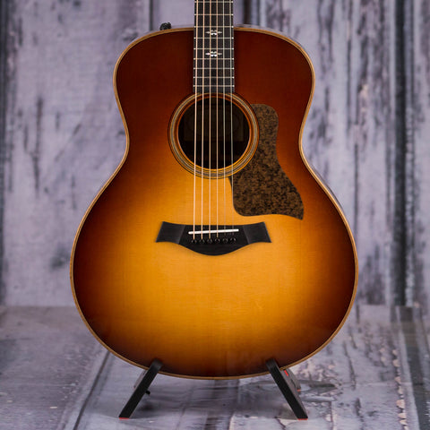 Taylor 716e Acoustic/Electric Guitar, Vintage Sunburst, front closeup