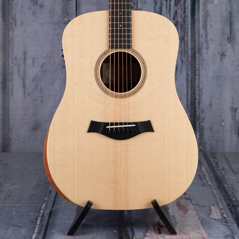 Taylor Academy 10e Acoustic/Electric Guitar, Natural, front closeup