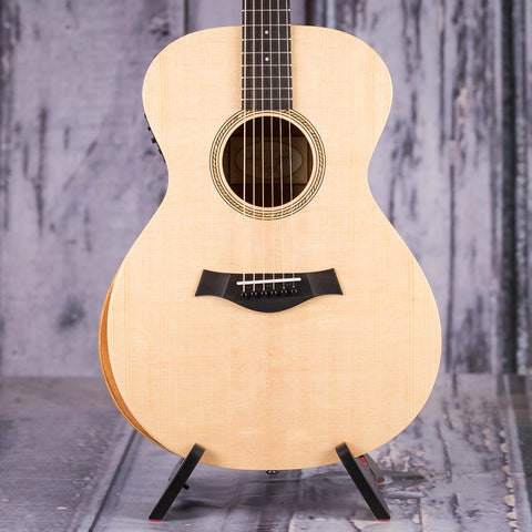 Taylor Academy 12e Acoustic/Electric Guitar, Natural, front closeup