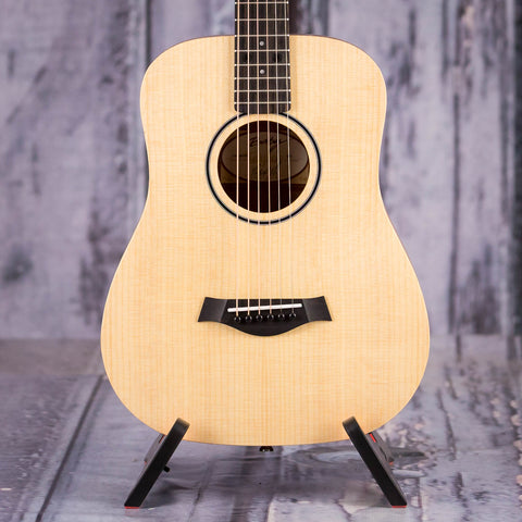 Taylor BT1 Baby Taylor Acoustic Guitar, Natural, front closeup
