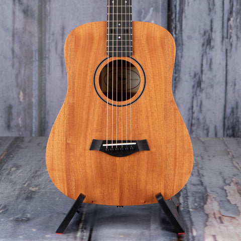 Taylor BT2 Baby Taylor Acoustic Guitar, Natural, front closeup