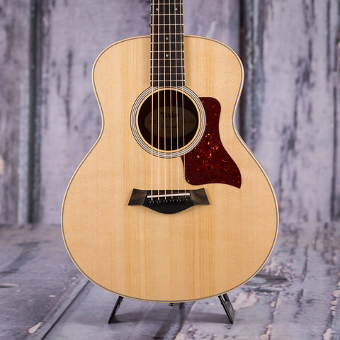 Taylor GS Mini Acoustic Guitar, Natural, front closeup