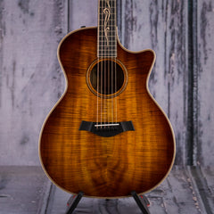 Taylor K24ce V-Class Grand Auditorium Acoustic Electric, Koa