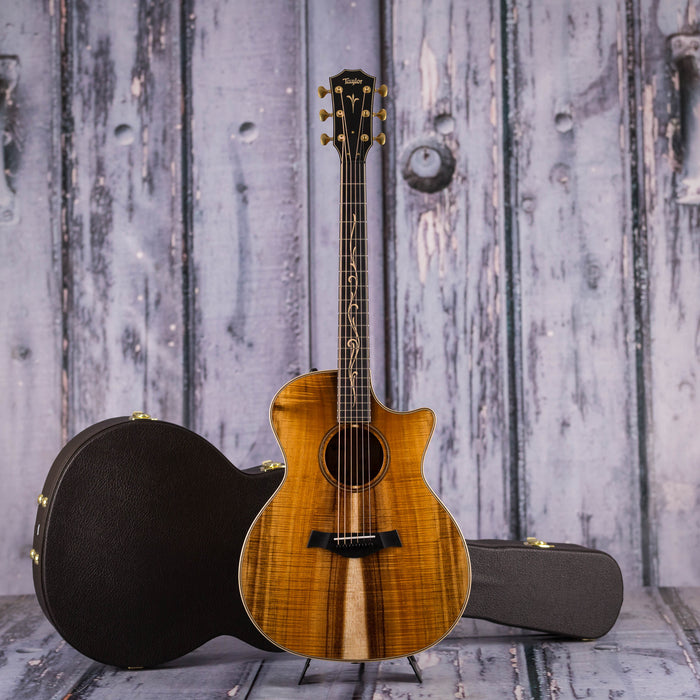 Taylor K24ce W/ AA Koa Top Acoustic Electric Guitar
