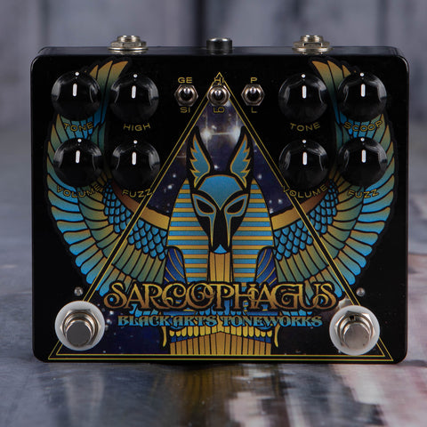 Used Black Arts Toneworks Sarcophagus Fuzz Effects Pedal, front