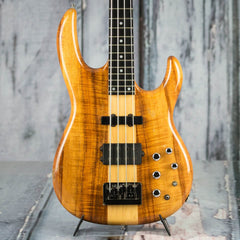 Used 2002 Carvin LB70 Koa Bass, Natural