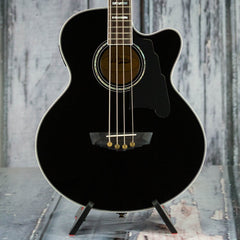 Used 2016 D'Angelico DAASBG700 Acoustic/Electric Bass, Black