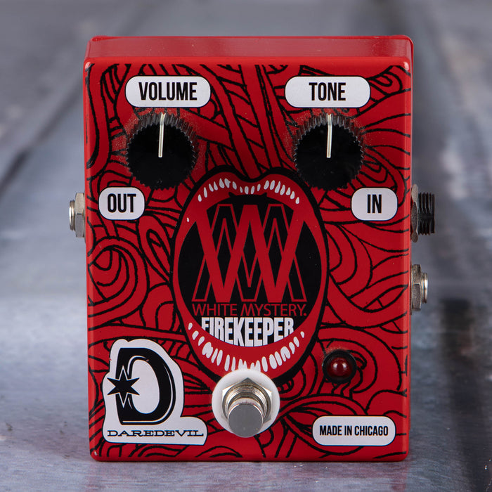 Used Daredevil Miss Alex White White Mystery Signature Firekeeper Fuzz