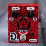 Used Daredevil Miss Alex White White Mystery Signature Firekeeper Fuzz Effects Pedal, front